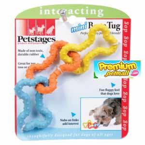 ของเล่นสุนัข Pet Stages Mini Bone Tug toy