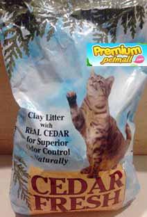 ทรายแมว Cedar Fresh ซีดาร์เฟรซ ขนาด 20 ลิตร (9.08kg.)
