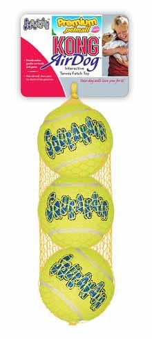 ของเล่น Kong Medium Tennis Ball ลูกเทนนิส 3 ลูก สำหรับสุนัข