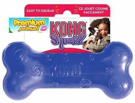 ของเล่น Kong Medium Squeezz Bone สำหรับสุนัข