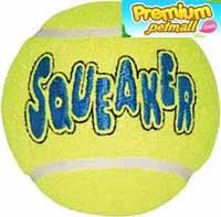 ของเล่น Kong Medium Tennis Ball ลูกเทนนิส 2 ลูก ขนาดใหญ่ สำหรับสุนัข