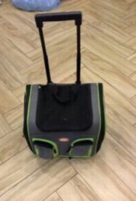 กระเป๋าล้อลาก สำหรับสุนัขและแมว
