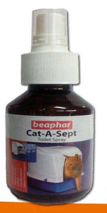 Beaphar Cat-A-Sept Toilet Spray น้ำยาฉีดช่วยลดกลิ่นอึ กลิ่นฉี่แมว
