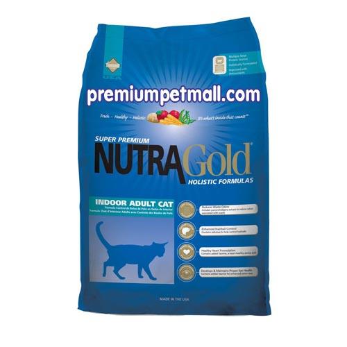 อาหารแมว นูทราโกล Nutra Gold Indoor Adult Cat ขนาด 7 กก.