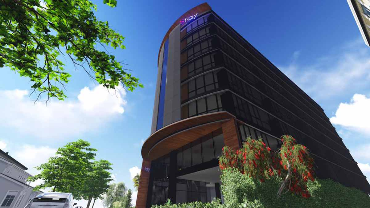 Installation automatic parking at Stay Hotel G-08 GSP Stack Parking, 2 floors, 16 cars completed in 2016.