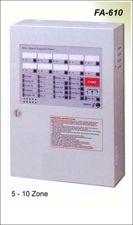 Fire Alarm Control Panel CEMENFA-400 Series