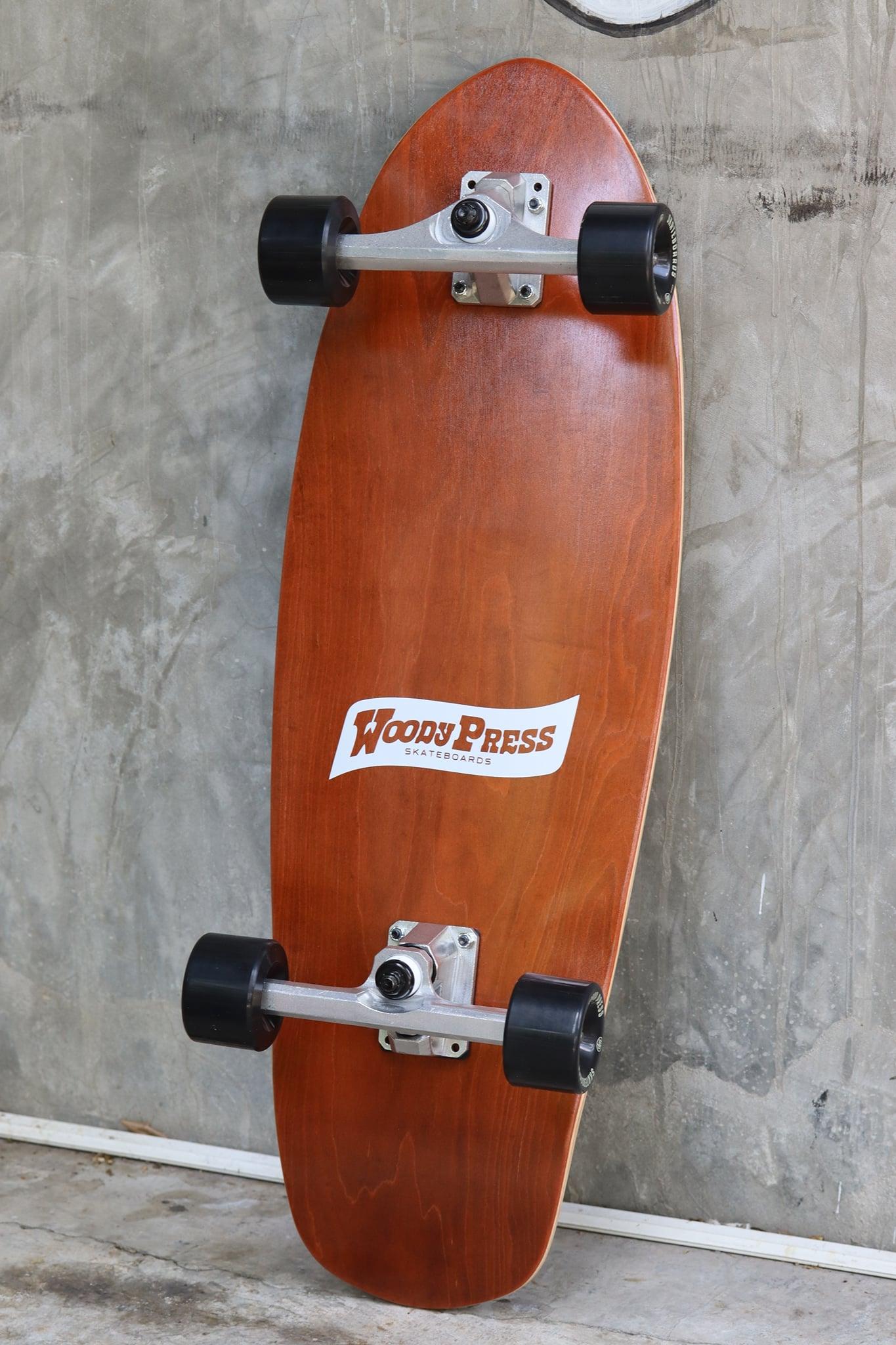 "WOODYPRESS 30"" CARVING SURFSKATE"