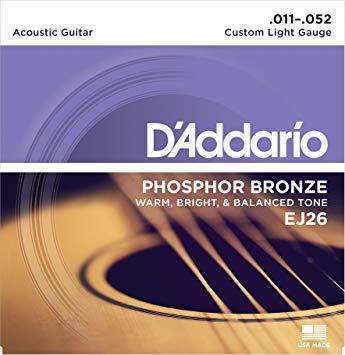 D'Addario .011 - .052  EJ 26-10P (เบอร์11)