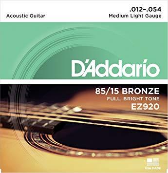 D'Addario .012 - .054  EZ 920 (เบอร์12)