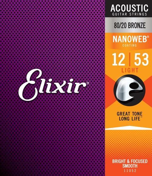 Elixir Electric Guitar Strings  .012-.053