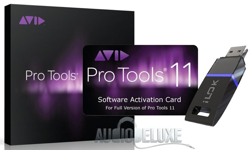 AVID PRO TOOLS 10 AND 11 FULL VERSION ACTIVATION PLUS ILOK 2 LICENSE KEY