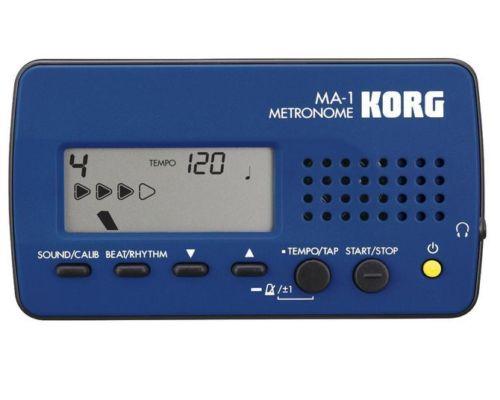 KORG Solo Metronome MA-1 BLBK Blue & Black