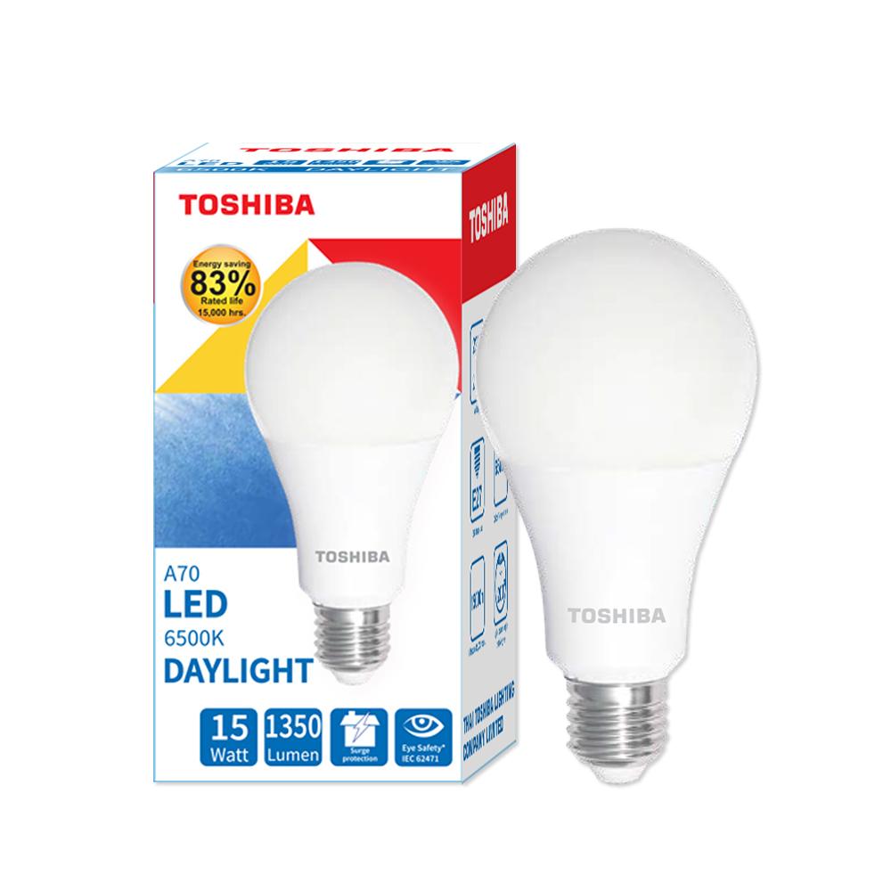 Toshiba LED Bulb A70 15W DL