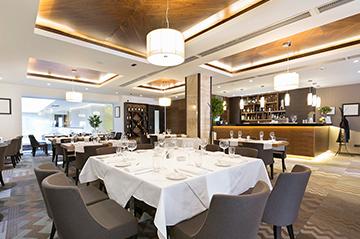 The restaurant its grand shine hotel