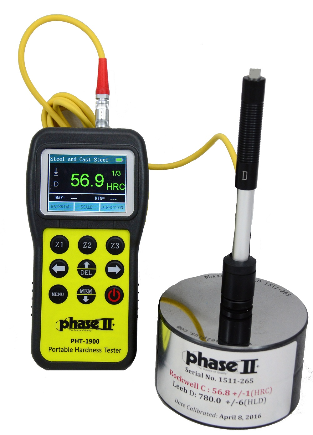 Portable Hardness Tester(PHT-1900)