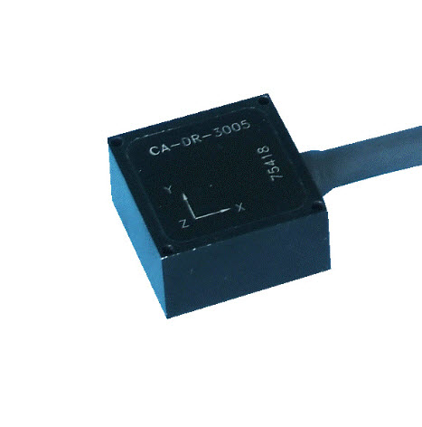 Single Axial Capacitance Accelerometer