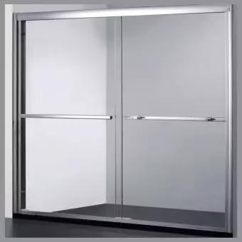 ฉากกั้นห้องน้ำแบบบานสไลด์ RICCO BKDR58