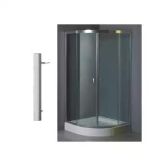 ตู้อาบน้ำเข้ามุมแบบสไลด์ RICCO RS9017
