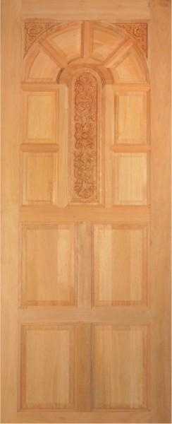 ประตูไม้สยาแดง บานเค