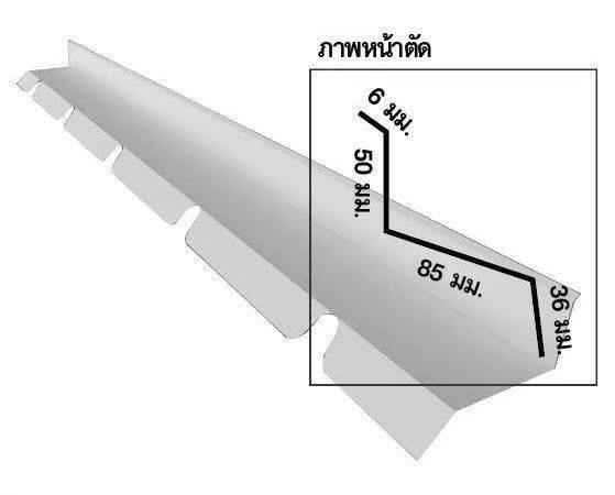 วิธีติดตั้งแผ่นหลังคาโปร่งแสง เจรูฟ (J-Roof)