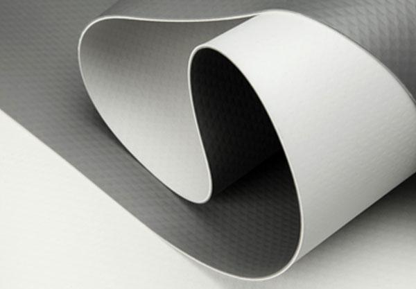 แผ่นกันซึมพีวีซีเมมเบรน (PVC sheet membrane) V-RP