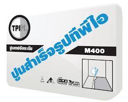 ปูน TPI M400 เทปรับระดับพื้นสำเร็จรูป 50 กก.