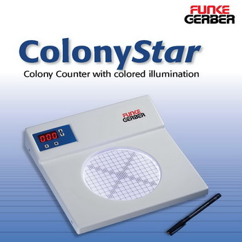 FUNKE GERBER COLONY COUNTER