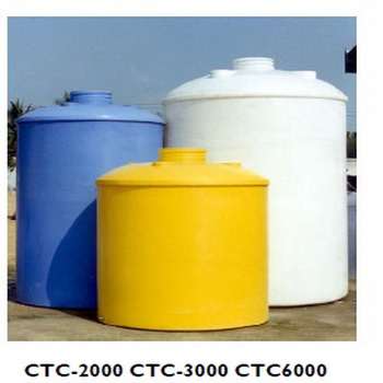 WATER & CHEMICALS TANK