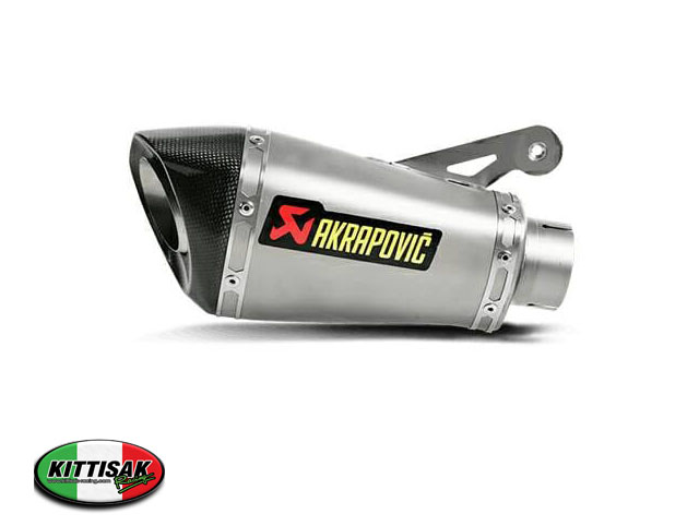 ท่อ  AKRAPOVIC  S1000R  slip on ( sticker ) ใส่ S1000R  NAKED ปี2015
