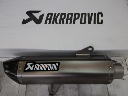 ท่อ AKRAPOVIC - SLIP ON TITANIUM LOGO SPECIAL ALUMINIUM EDITION สลิปออน Titanium Logo Special Aluminium Edition