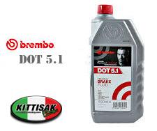 น้ำมันเบรค BREMBO DOT 4 - 5.1 PREMIUM BRAKE FLUID