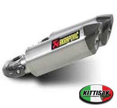 ท่อ Akrapovic Slip-on carbon ตรงรุ่น Ducati M795/M796