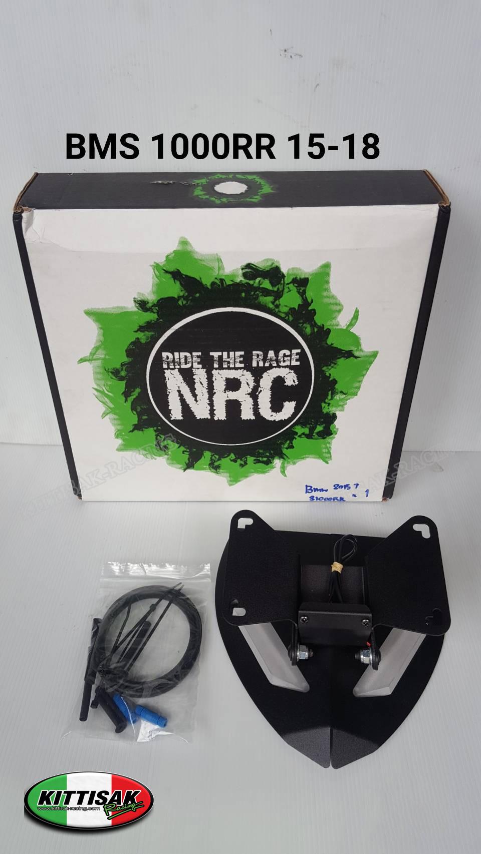 ชุดท้ายสั้น NRC มาพร้อมไฟเลี้ยวหลัง LED สำหรับ BMW S1000R (naked) และ BMW S1000RR (sport)ปี 09-15+