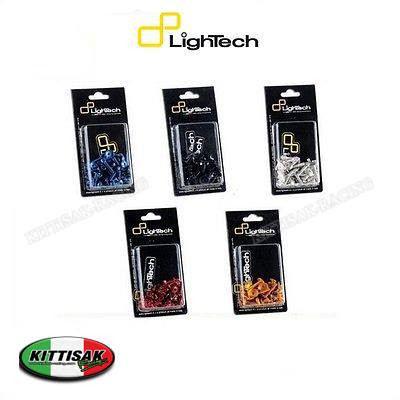 น๊อตอลูมิเนียมน้ำหนักเบา Lightech ครบชุดทั้งคัน ทีเดียวจบ สำหรับ BMW S1000RR ปี 09-12