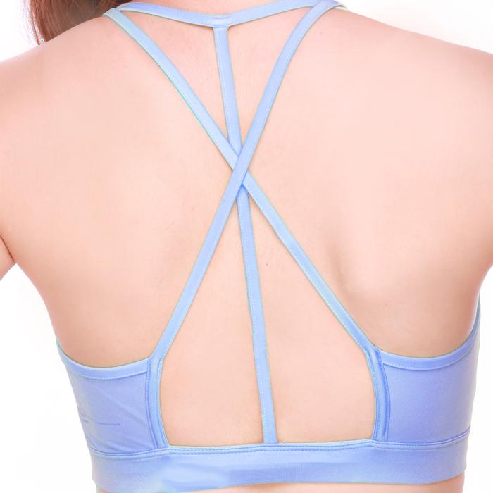 สปอร์ตบรารุ่นออเรียน ฟ้า | Orion Bra - Blue | ブラジャー  | 运动文胸 | soutien-gorge de sport
