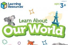 ดาวน์โหลดฟรี ! ใบงาน 'LEARN ABOUT OUR WORLD'  พาลูกเที่ยวทิพย์ ไม่ต้องง้อทริปเที่ยว