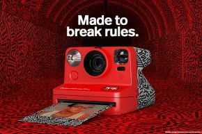 Polaroid x Keith Haring : Made to break rules.