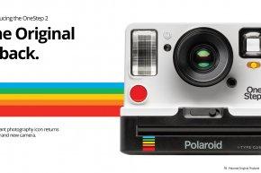 Say hello to Polaroid Originals OneStep 2