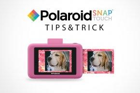 Tips&Trick - มาเปลี่ยนกรอบและลายสติ๊กเกอร์ให้ Polaroid SNAP Touch กันเถอะ