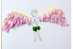 ศิลปะเด็ก : ศิลปะจากดอกไม้ใกล้ตัว