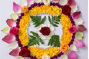 ศิลปะเด็ก : มันดาลาดอกไม้