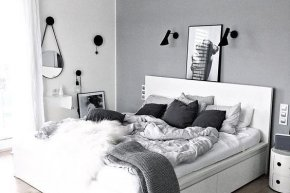 แต่งห้อง ขาว- ดำ สำหรับใครที่ชอบอะไรที่เรียบ ๆ เบสิก ๆ | Bumrungthai