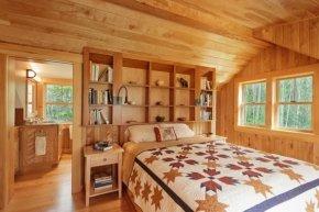 แบบห้องนอนสวย ๆที่ตกแต่งด้วยวัสดุไม้จริง | Bumrungthai