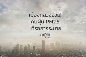 เมืองหลวงอ่วม! กับฝุ่น PM2.5 ที่รอการระบาย