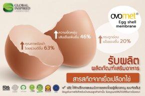 สารสกัดจากเนื้อเยื้อเปลือกไข่