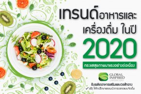 เทรนด์อาหารและสุขภาพ 2020