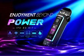 SMOK IPX 80 Kit มาพร้อมกับแบตในตัว 3000mAh รีวิว