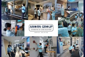 """Amorn Group """"Big Cleaning """" all facilities as coronavirus (COVID-19) spreads."""