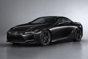 Lexus LC Black Inspiration ตัวพิเศษสำหรับผู้หลงไหลในสีดำ