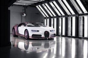 รวยจัด!! ถอย Bugatti Chiron Sport สีชมพู เป็นของขวัญแฟนวันวาเลนไทน์